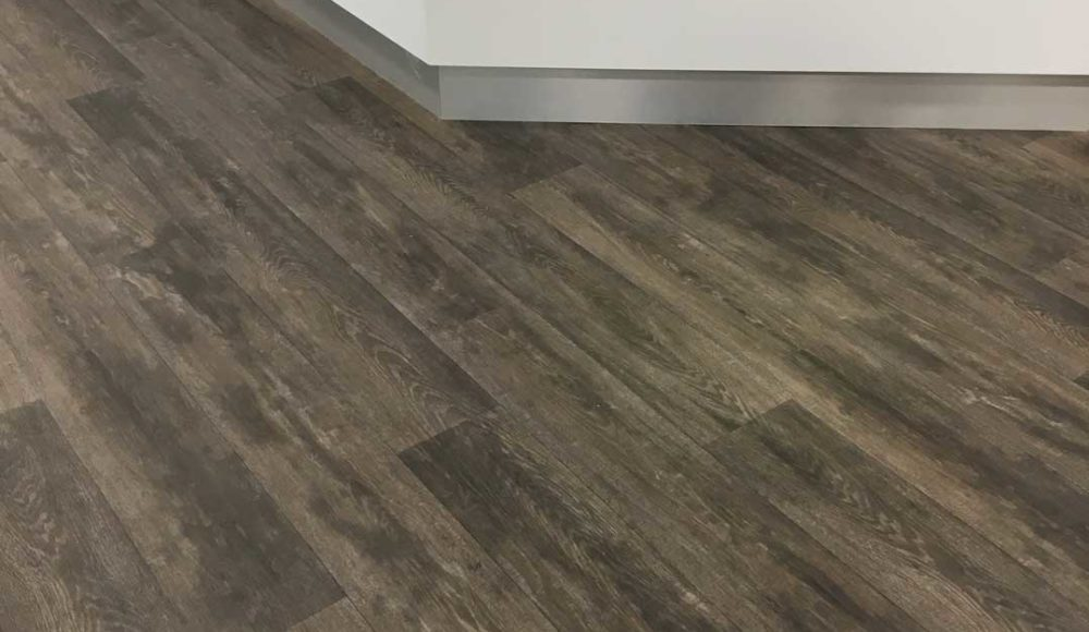 Forbo Vinyl Flooring in GP Centre reception area, NGH. Forbo Vinyl