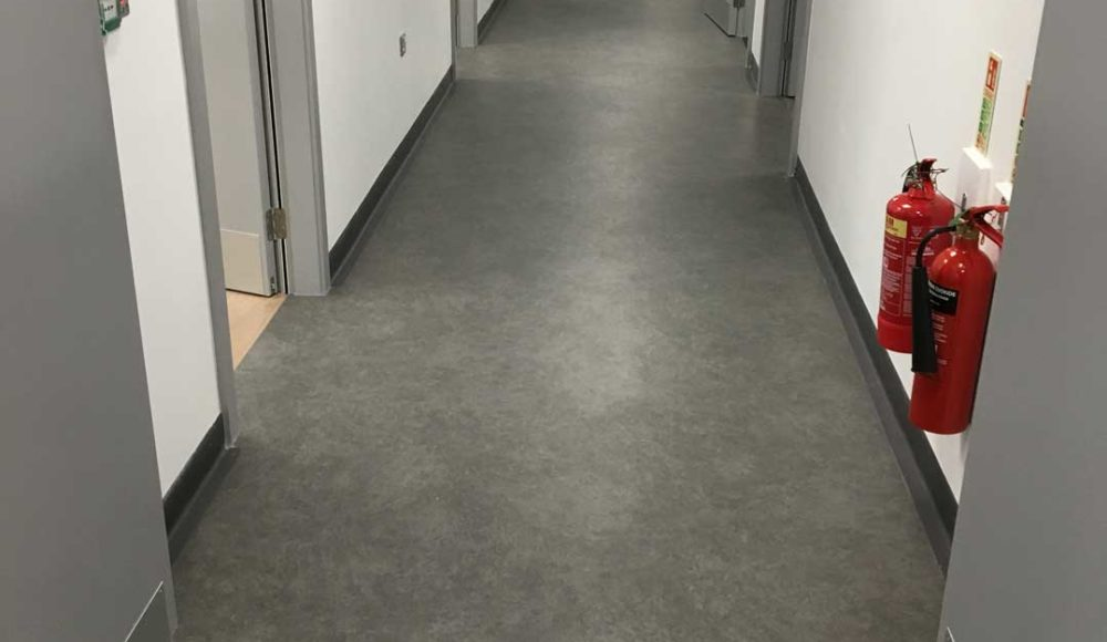 Forbo Vinyl Flooring in GP Centre, NGH