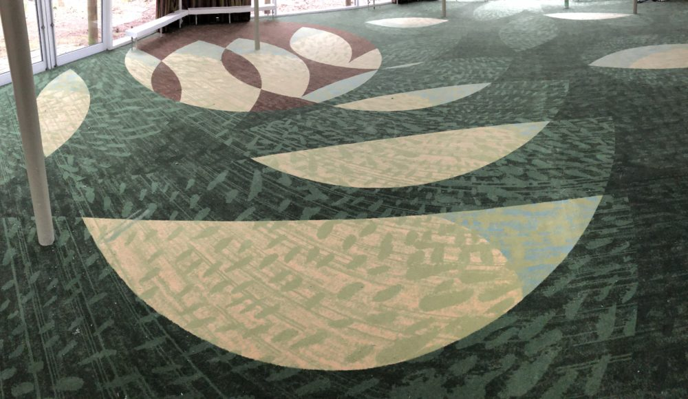 ege carpet designed for Centre Parcs Nottingham
