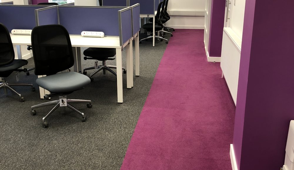 Interface Carpet Tiles for UoS Offices