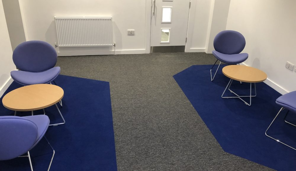 Interface Carpet Tiles for UoS break out space