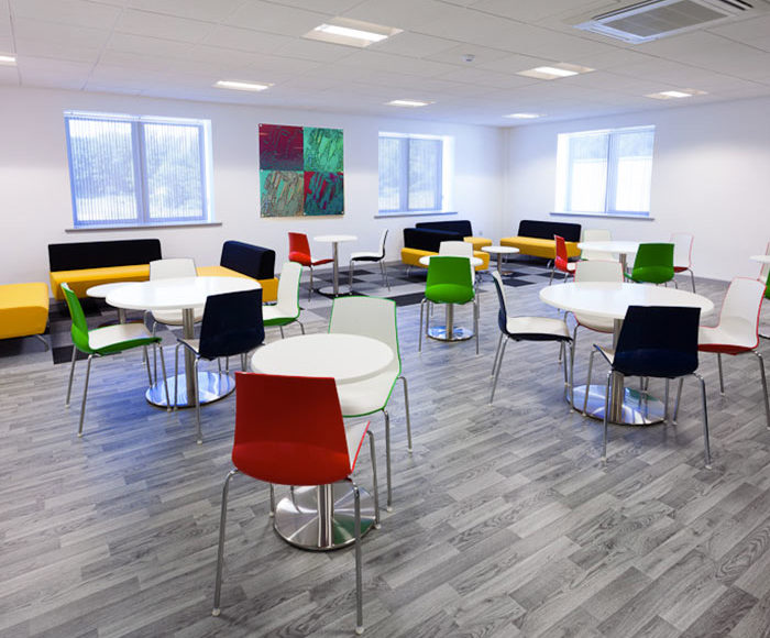 Safety Flooring Forbo Vinyl planks safety flooring for Office refit
